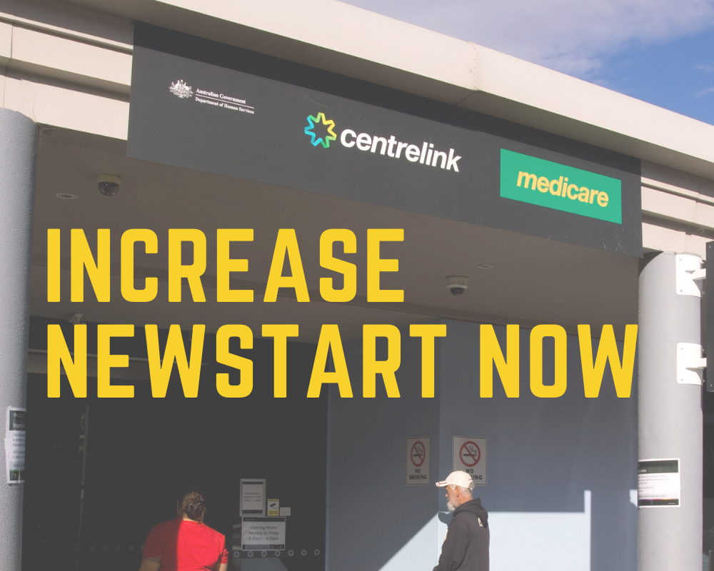 Raise the rate: it's time to increase Newstart